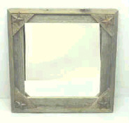Weathered Frame Mirror