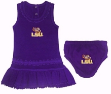 Ruffle LSU Dress