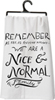 Nice & Normal Dish Towel