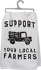 Local Farmer Dish Towel