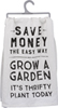 Grow Garden Dish Towel