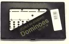 Double Six Standard domino Set-Ivory