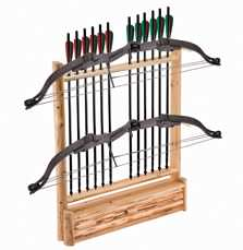 2-Bow, 12 Arrows With Storage