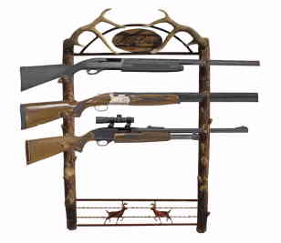 Big Game 5-Gun Wall Rack
