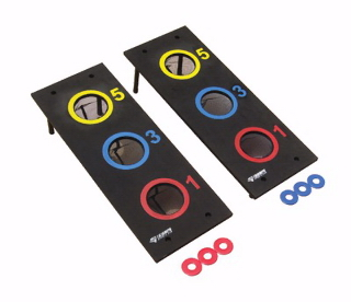 3 Hole Washer Toss Game Set