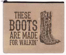 Boots made/Walking