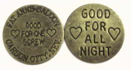Fat Ann's Saloon Token