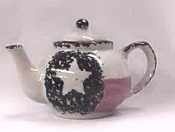 Texas Flag Teapot