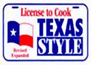 License to Cook Texas Style