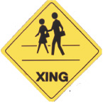 Crossing Sign People