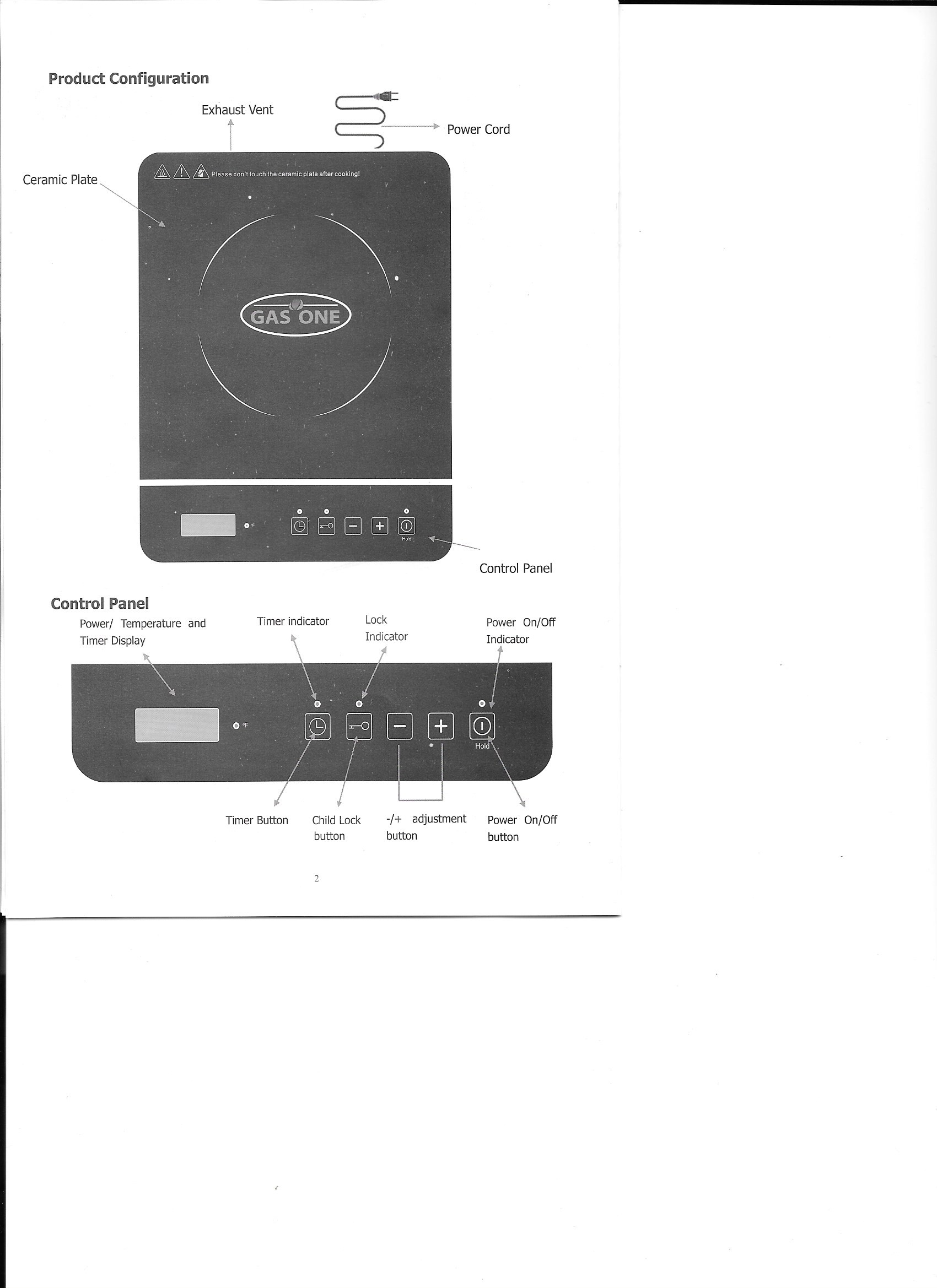 Induction Cooktop Manual
