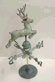 Weathervane Buck Deer with Stand